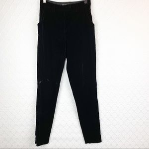 GEORGIO ARMANI Black Velvet Trouser Pants 42 8/10